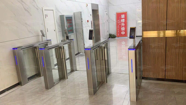 杭州某写字楼出入口
