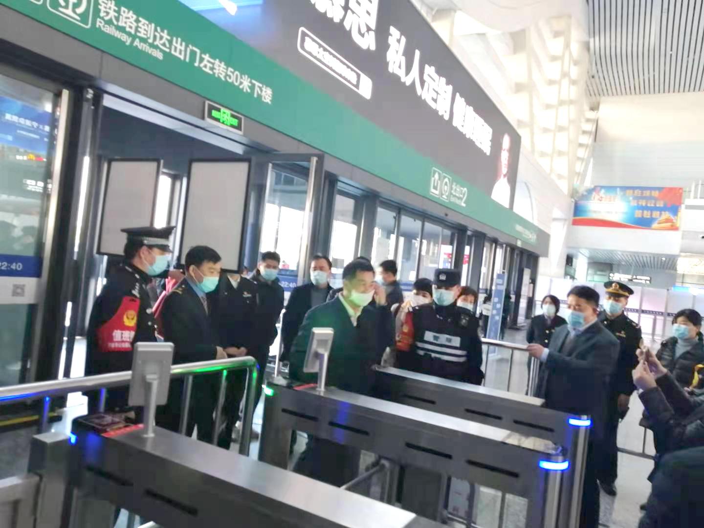 浙江某高铁站